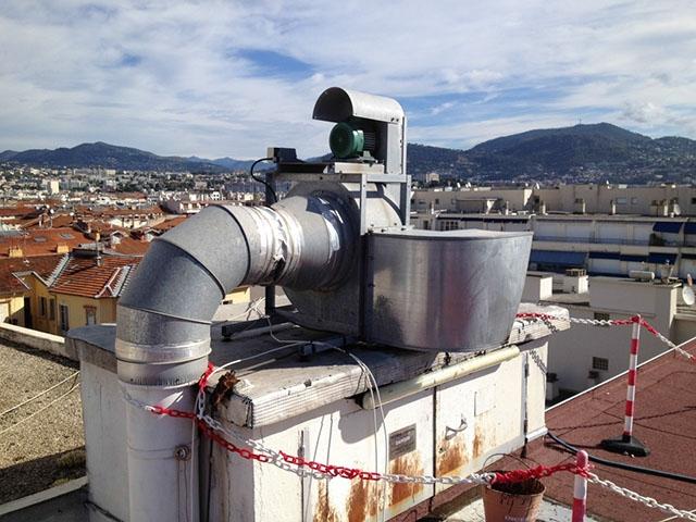 Entretien groupe d 39 extraction for Tourelle extraction cuisine